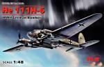 1-48-Heinkel-He-111H-6-German-Bomber-4x-camo