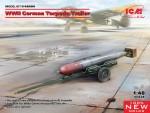 1-48-German-WWII-Torpedo-Trailer-2x-options