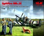 1-48-Spitfire-Mk-IX-with-RAF-pilots-and-ground-personnel