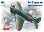 1-72-I-16-type-18-WWII-Soviet-fighter