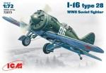 1-72-I-16-type-28-WWII-Soviet-fighter