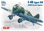 1-72-I-16-type-28-WWII-Soviet-fighter