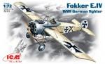 1-72-WWI-German-fighter-Fokker-E-IV