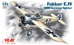 1-72-WWI-German-fighter-Fokker-E-IV