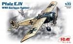 1-72-WWII-German-fighter-Pfalz-E-IV