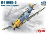 1-72-WWII-German-fighter-Bf-109-E-3