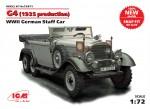 1-72-G4-1935-production-WWII-German-Staff-car