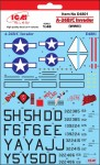 1-48-Decal-for-A-26B-C-Invader-WWII-4x-variants