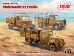 1-35-Wehrmacht-3t-Trucks-DIORAMA-SET-3-kits