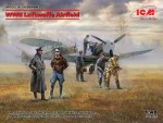 1-48-Luftwaffe-WWII-Airfield-2x-kits-and-7-figures