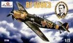 RARE-1-72-Messerschmitt-Bf-109E3-German-WW2-fighter