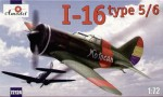 1-72-Polikarpov-I-16-type-5-6-Soviet-WW2-Fighter-Russian-and-Spanish-markings