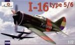 1-72-Polikarpov-I-16-type-5-6-Soviet-WW2-Fighter-Russian-and-Spanish-markings