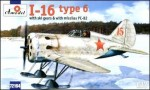 1-72-Polikarpov-I-16-type-6-Soviet-fighter