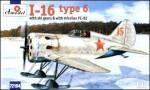 1-72-Polikarpov-I-16-type-6-Soviet-fighter