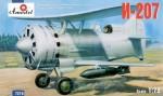 RARE-1-72-I-207-Soviet-preWW2-biplane-fighter