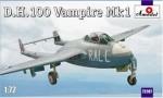 1-72-D-H-100-Vampire-Mk1-RAF-jet-fighter