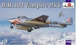 1-72-D-H-100-Vampire-Mk6-RAF-jet-fighter
