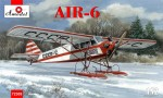 1-72-AIR-6-Soviet-monoplane-on-skis