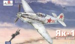 1-72-Yakovlev-Yak-1-Soviet-WW2-fighter-early-version