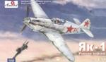 1-72-Yakovlev-Yak-1-Soviet-WW2-fighter-early-version