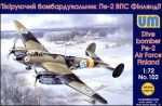 1-72-Pe-2-Air-Force-Finland-dive-bomber-resin-parts