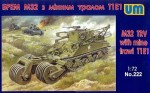 1-72-M32-tank-recovery-vehicle-with-mine-trawl-T1E1