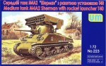 1-72-Tank-M4A2-with-T40-rocket-launcher