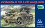 1-72-Sturmhaubitze-42-Auf-G-with-Saukopf-mantle