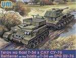 1-72-Retriever-on-T-34-basis-with-SPG-SU-76