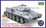 1-72-Fire-throwing-tank-T-34-with-FOG-1