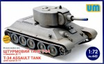 1-72-T-34-Assault-Tank-with-Turret-D-11
