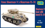 1-72-Sherman-V-tank-with-turret-FL-10