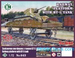 1-72-Railway-platform-with-BT-5-tank