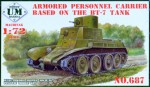 1-72-Armored-Personnel-Carrier-based-on-BT-7-tank