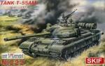1-35-T-55AM-1-Soviet-Main-Battle-Tank