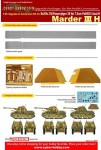 RARE-1-35-Cyber-Hobby-Marder-III-H-UPG-and-Conv-set-for-6331