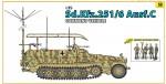 1-35-Sd-Kfz-251-6-Ausf-C-Command-Vehicle-+-German-Command