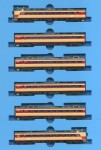 1-150-485-Series-1000-Hatsukari-Limited-Express-Color-6-Car-Set
