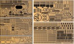 1-200-Battleship-Yamato-Central-Structure-+Central-Structure-Hull-Photo-Etched-Parts