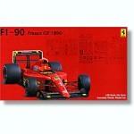 RARE-1-20-Ferrari-F1-90-French-Grand-Prix-Clear-Body-Type-POSLEDNI-KUS