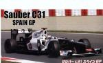 1-20-Sauber-C31-Spanish-Grand-Prix-with-1-8-Helmeet