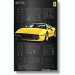 1-16-Ferrari-288-GTO-Yellow