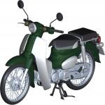 1-12-Honda-Super-Cub-110-Tasmania-Green-Metallic