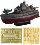 Chibi-Maru-Fleet-I-400-Class-Submarine-2pcs-Special-Version-with-Photo-Etched-Parts-and-Wooden-Deck-Stickers
