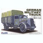 1-72-German-Military-Truck-w-Camouflage-Decal