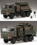 1-72-JGSDF-Type-81-Surface-to-Air-Missile-Launcher-and-Fire-Control-Systems-Vehicles-3pcs