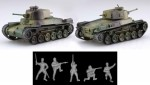 1-76-IJA-Type-97-Medium-Tank-Chi-Ha-Kai-2pcs-Special-Version-with-IJA-Infantry