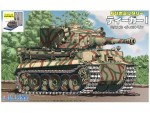 Tiger-I-Michael-Wittmann-with-Painted-Pedestal-for-Display