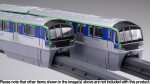 1-150-Tokyo-Monorail-Series-10000-Unit-6-Cars-Unpainted-Kit